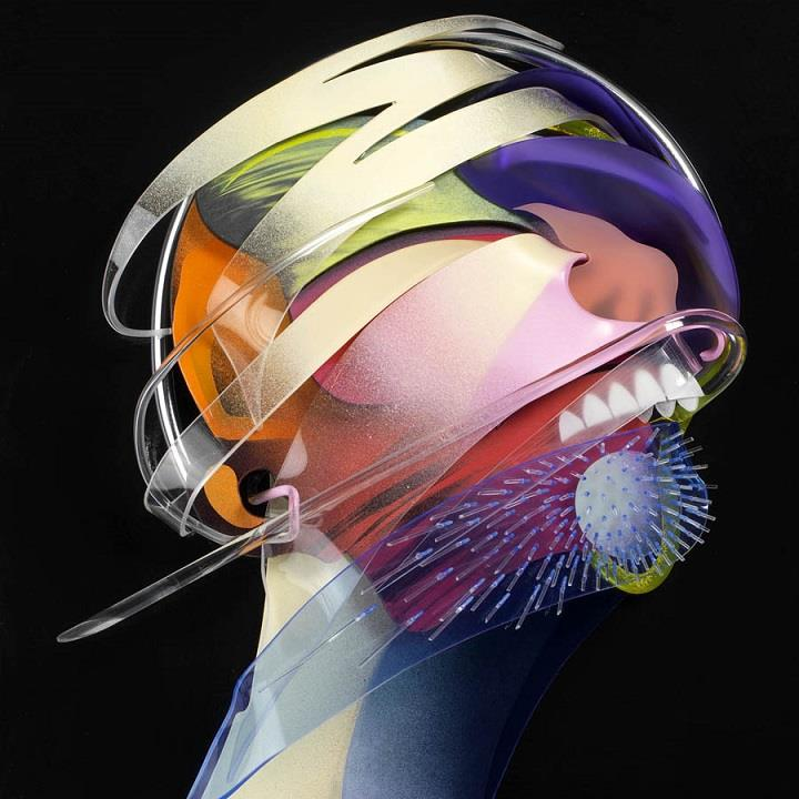Adam Neate - Dimensional Paintings