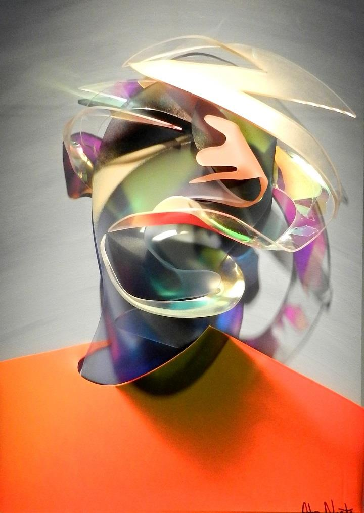 Adam Neate - dimensional painting
