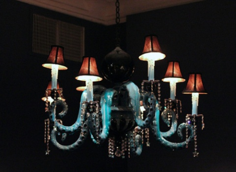 Adam Wallacavage - Octopus Chandelier 5