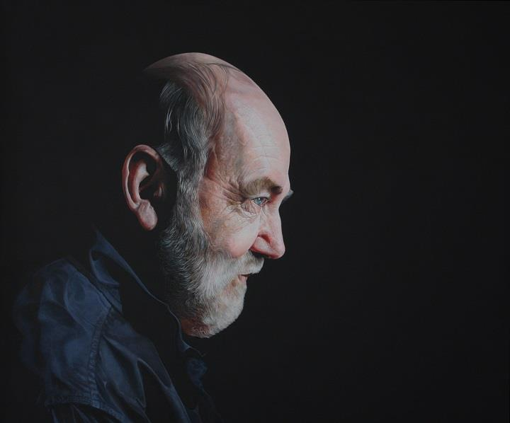 Alan Coulson - portrait of my father