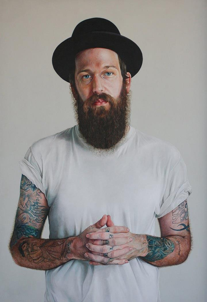 Alan Coulson - tattooed guy