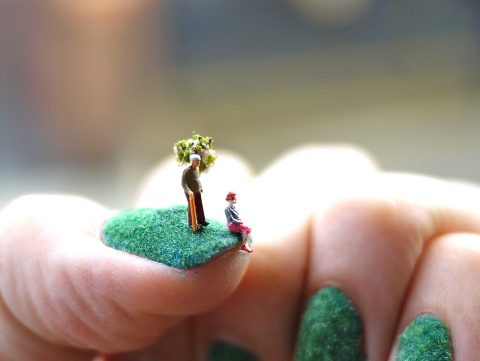 Nail Landscapes by Alice Bartlett