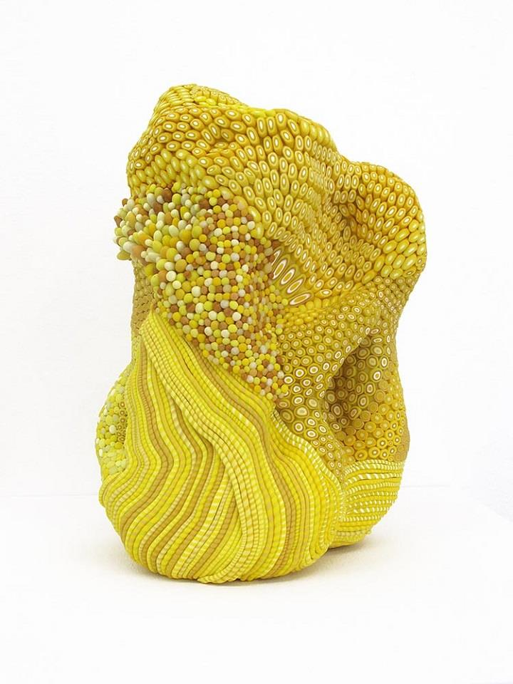Angelika Arendt - yellow sculpture