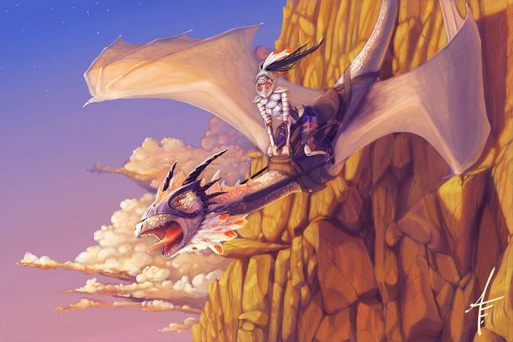 Anna Edwards - dragon
