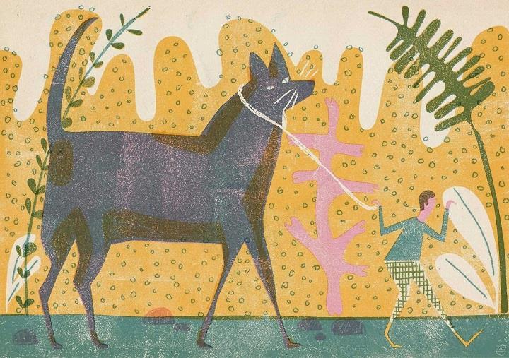 Barbara Dziadosz - big cat