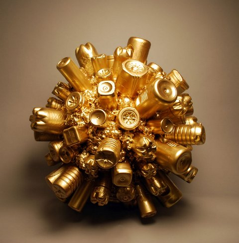 Bart Vargas - a golden bottle ball