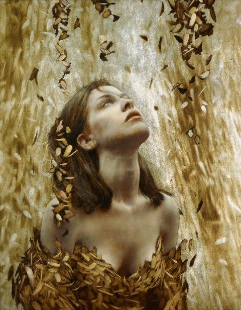 Brad Kunkle - Leaf Paintings 3