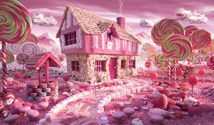 Carl Warner - Candy Cottage