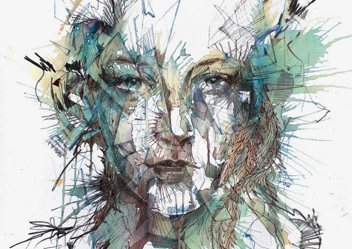 Carne Griffiths - Ink, Tea and Alcohol