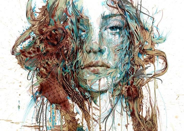 Carne Griffiths - Dreamlike Drawings