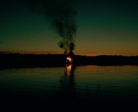 Carrie Schneider Burning House 4