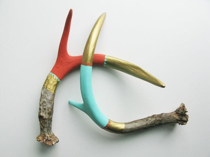 Cassandra Smith - Decorated Antlers