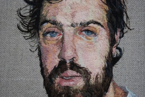 Daniel Kornrumpf - Embroidered Portraits