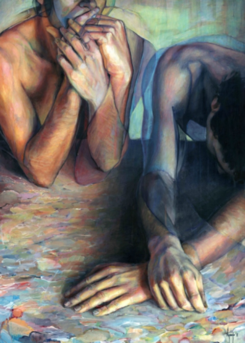 David Agenjo: Human Body in Colors