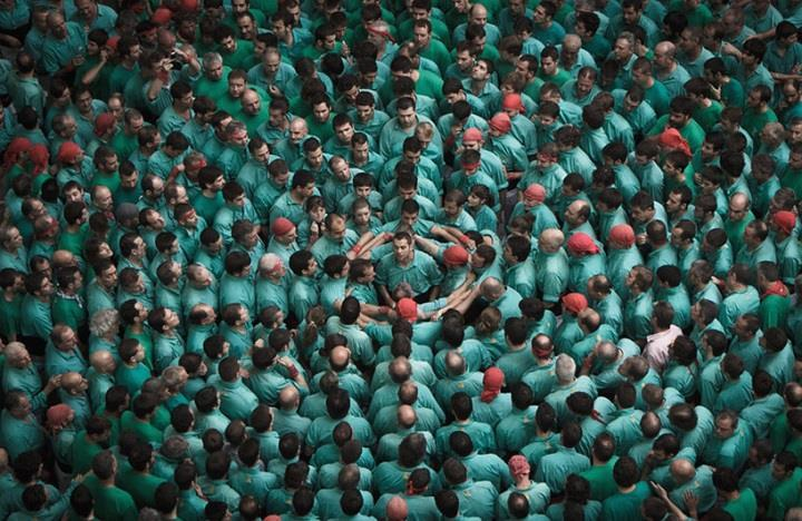 David Oliete - Human Towers in Catalonia