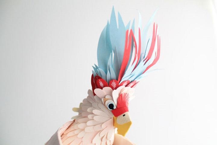 Diana Beltran Herrera - Realistic Paper Birds