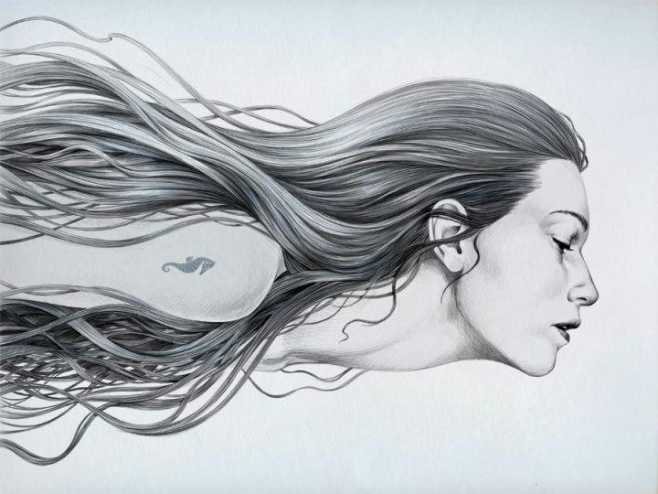 Diego Fernandez - a mermaid