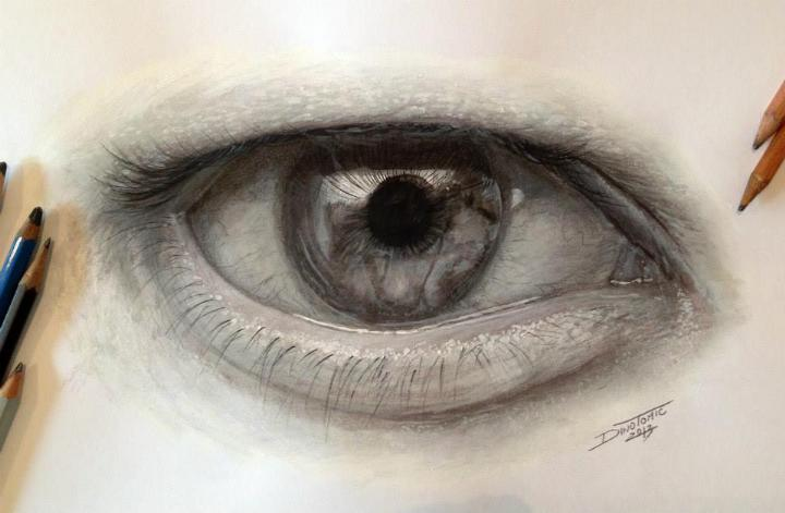Dino Tomic - eye drawing 2