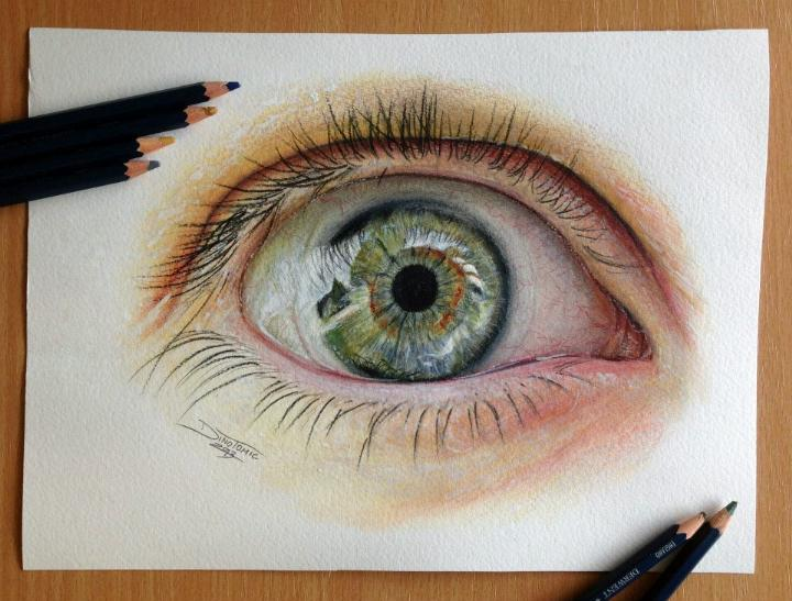 Dino Tomic - eye drawing