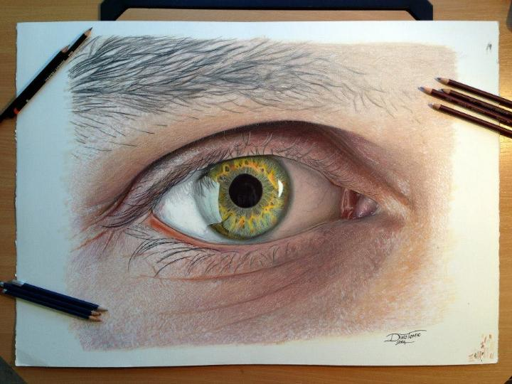 Dino Tomic - hyperrealistic eye