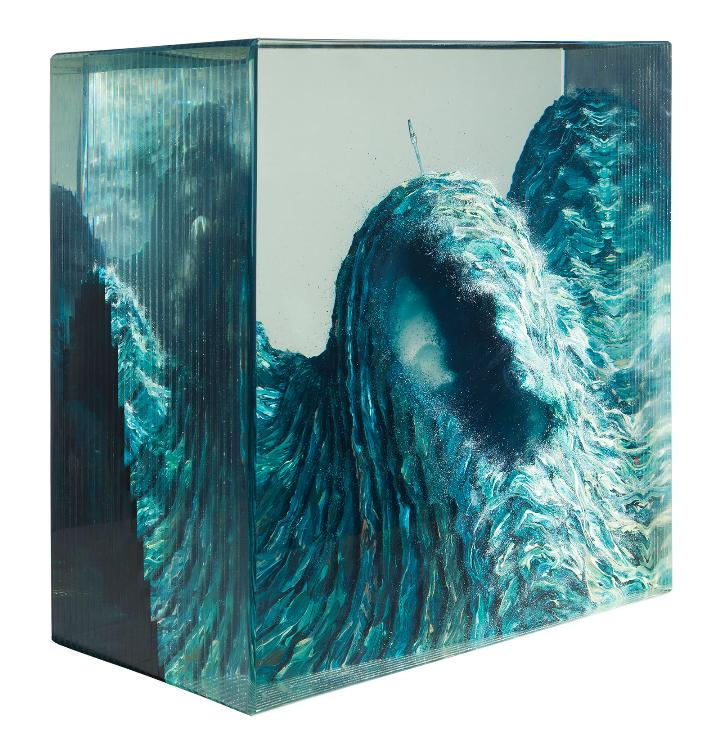 Dustin Yellin bobo-sea-cave_no1