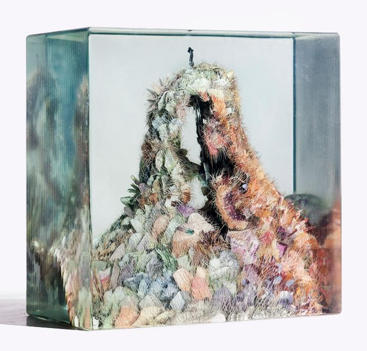 Dustin Yellin crystal-cave_no2