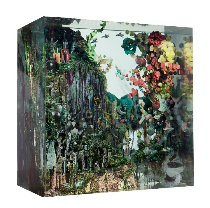 Dustin Yellin - Caves