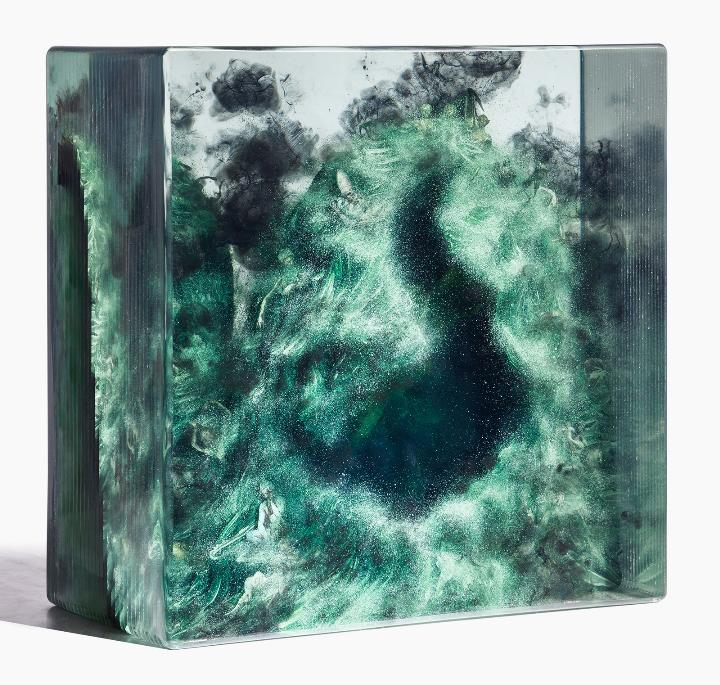 Dustin Yellin untitled-cave_no1