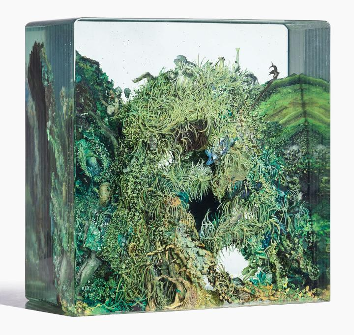 Dustin Yellin zulu-cave_no2