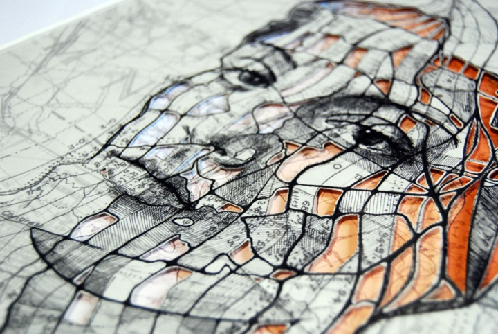 Ed Fairburn - Faces Hidden in Maps