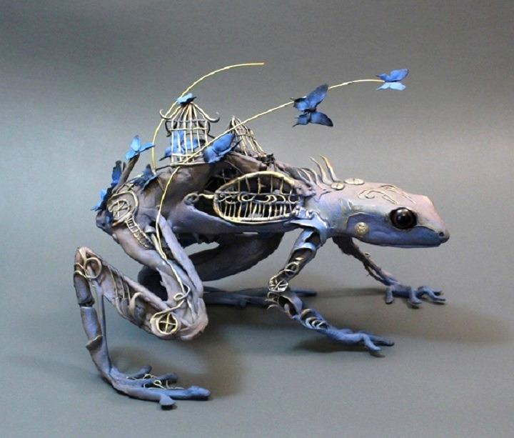 Ellen Jewett - butterfly frog