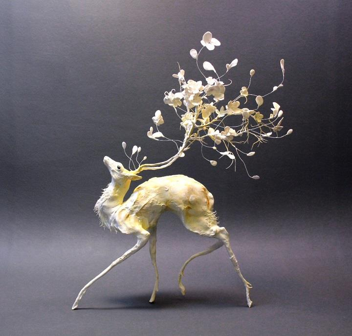 Ellen Jewett - petal deer