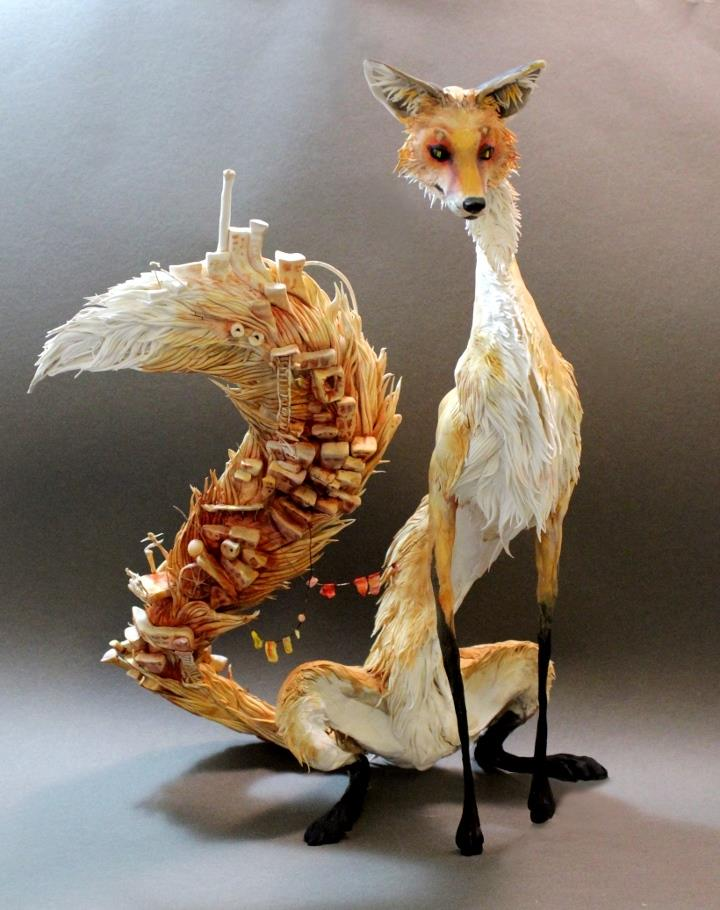 Ellen Jewett - tall fox