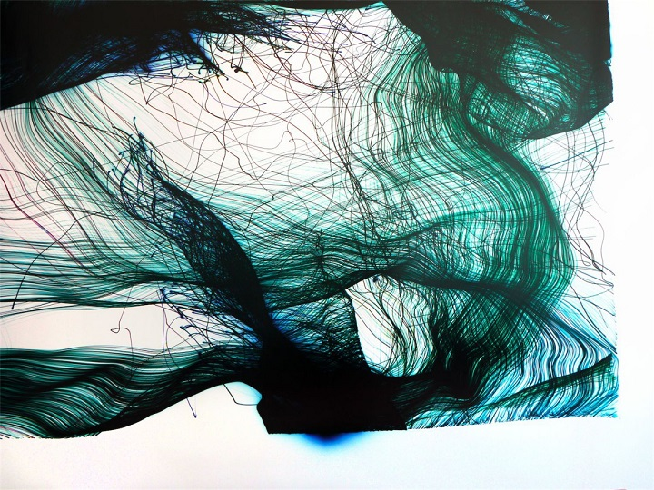 Eno Henze - green and blue