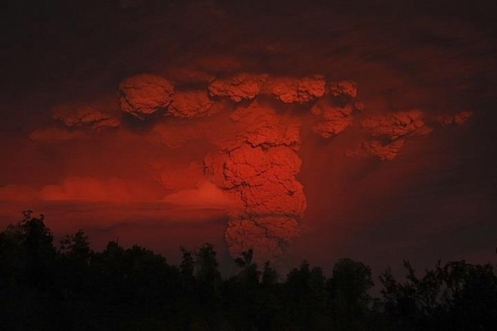 Francisco Negroni - erupted volcano