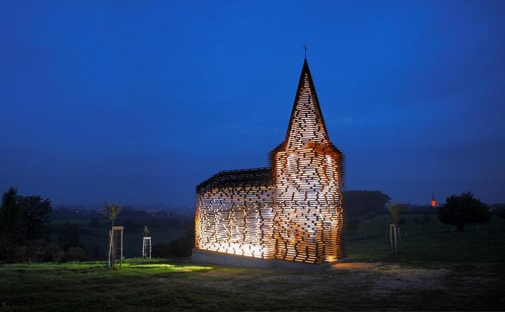 Gijs Van Vaerenbergh - See-through Church