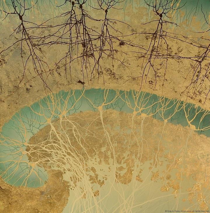 Greg Dunn - Hippocampus closeup