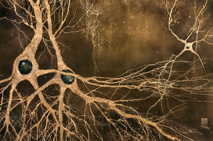 Greg Dunn - Neuroscience Art