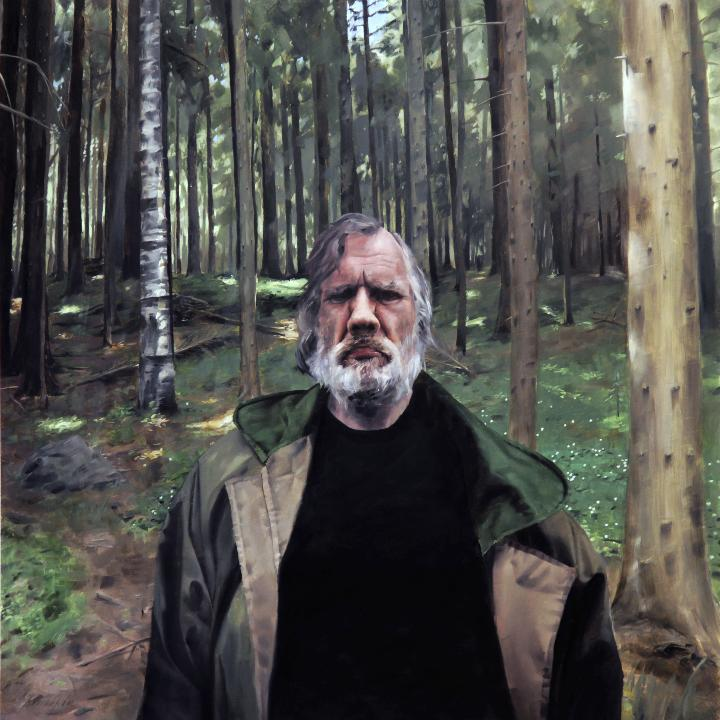 Henrik Uldalen - man in the woods