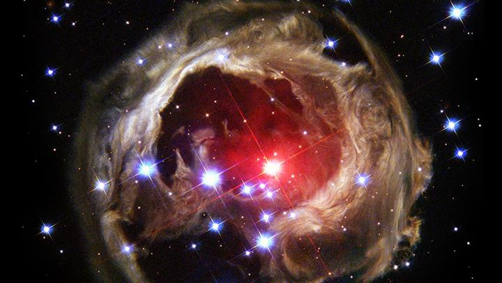 Hubble V838 Monocerotis