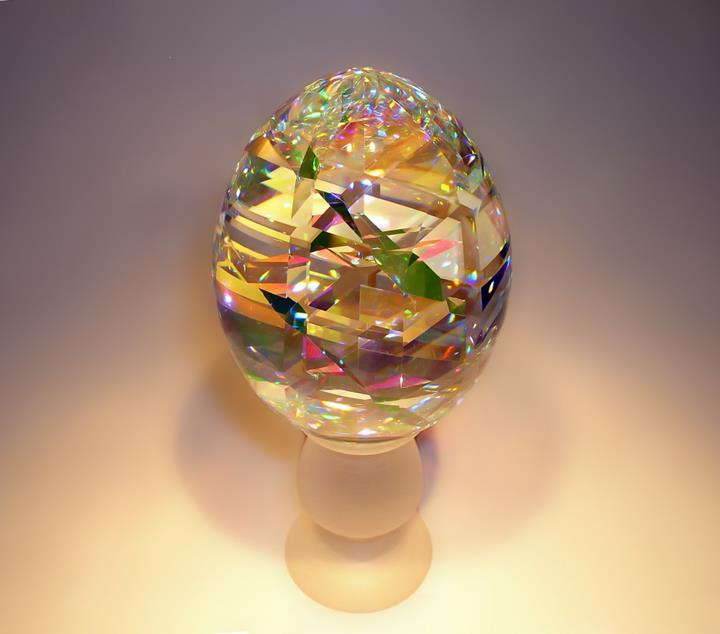 Jack Storms - glass egg