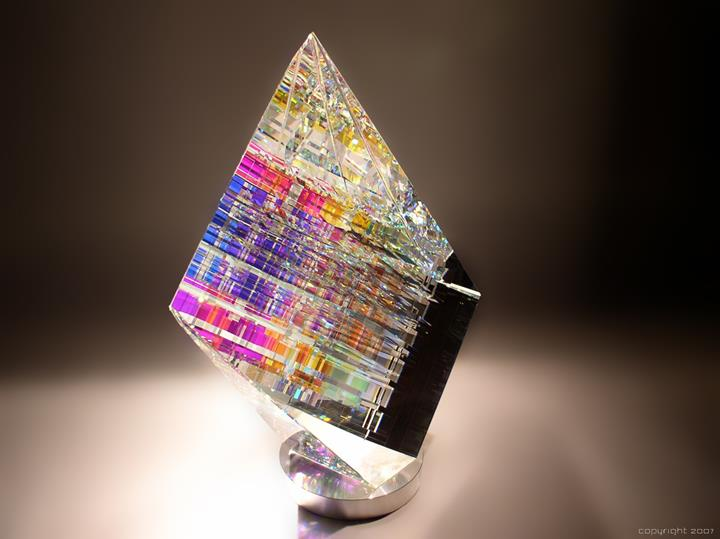 Jack Storms - glass sculpture