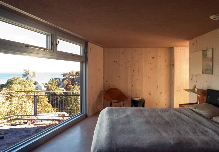 James Cleary Architecture - bedroom