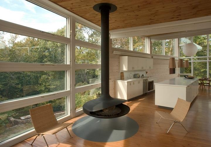 James Cleary Architecture - fireplace