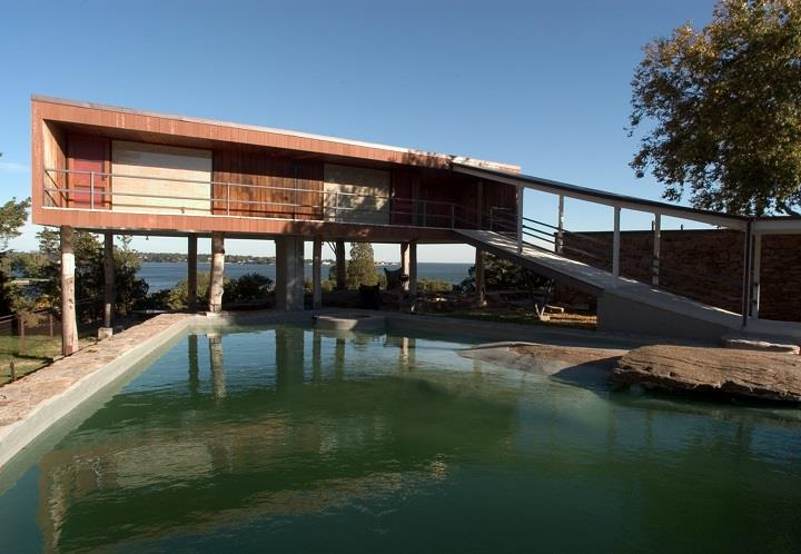 James Cleary Architecture - garden pool