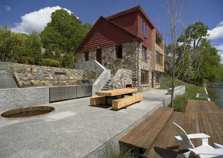 James Cleary Architecture - house back