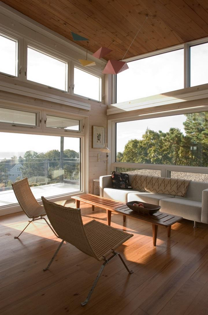 James Cleary Architecture - wooden room