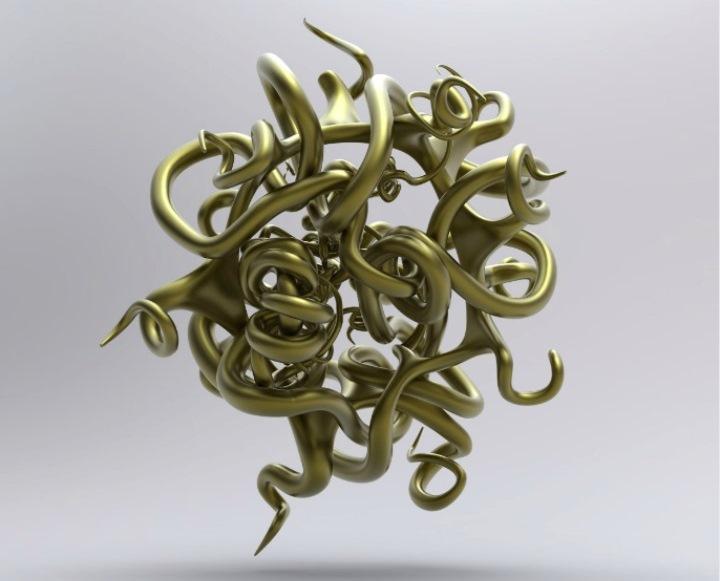 Joshua Harker - a gold knot