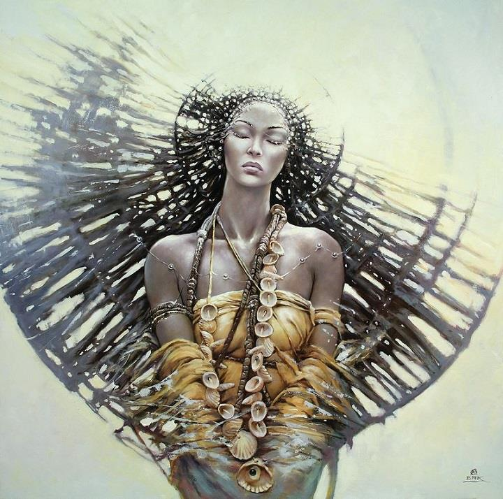 Karol Bak - eyes closed