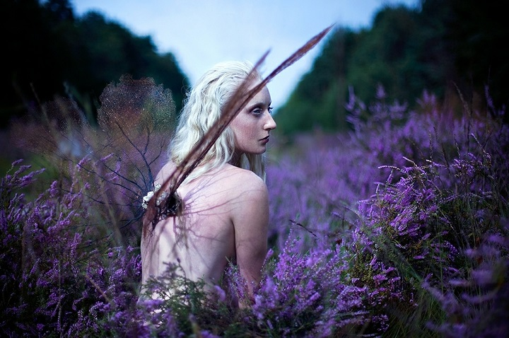 Kirsty Mitchell - winged woman